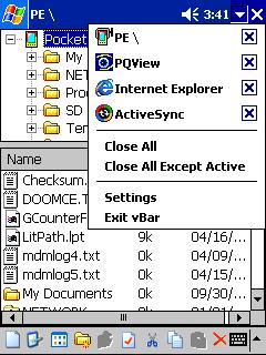 Windows Mobile / Windows CE Archives - vBar